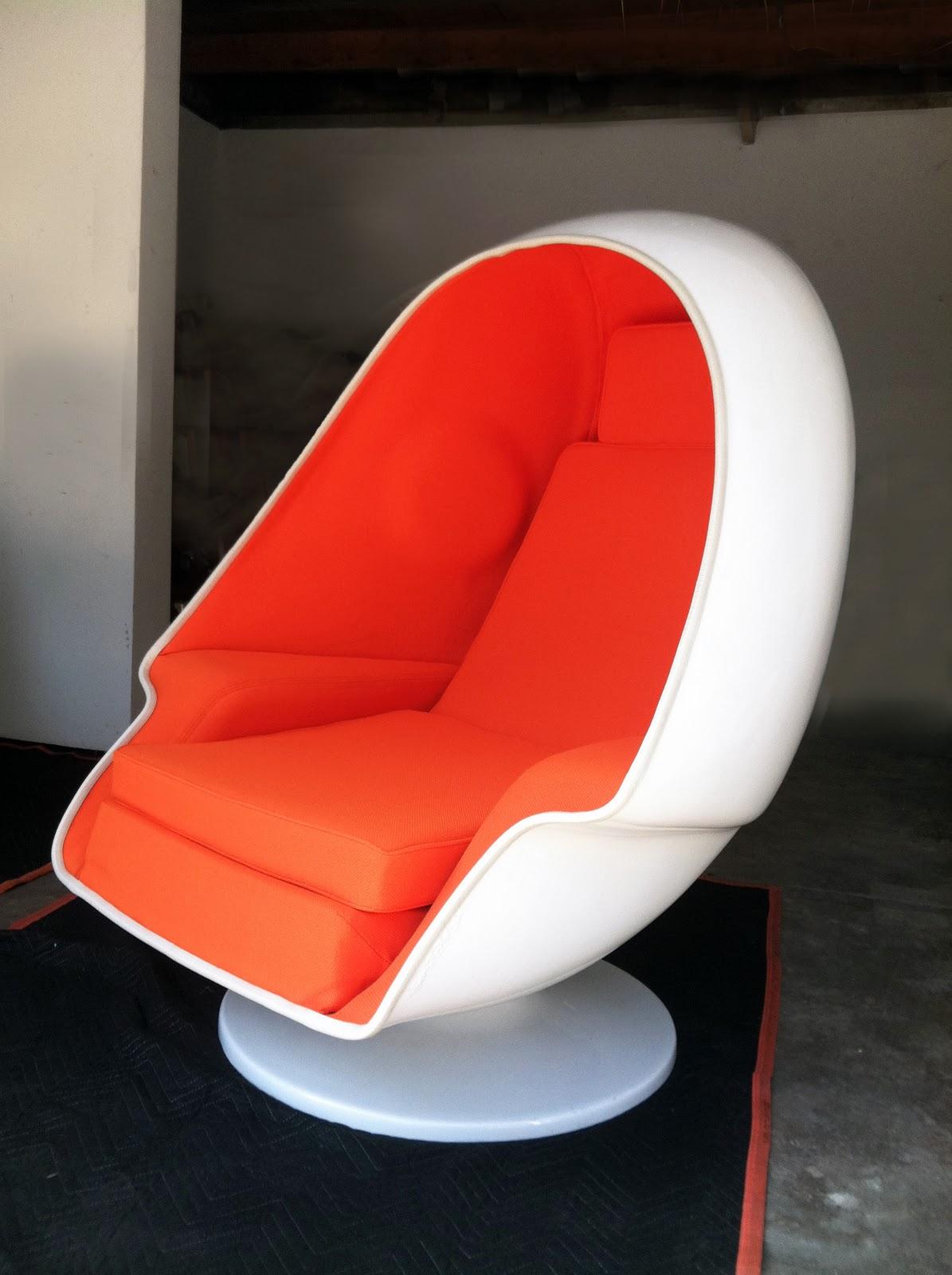 Mid Century Egg Chair Conant Ball Modern August 2011
