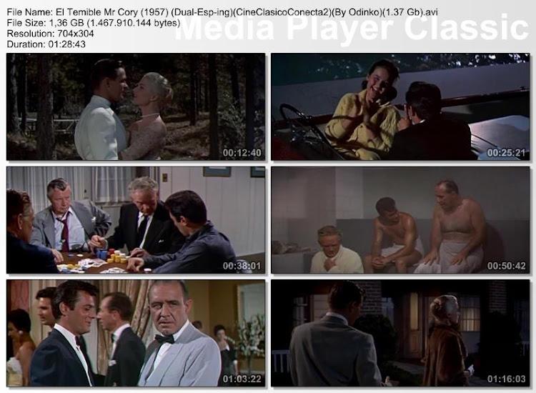 El temible Mr. Cory 1957 | Secuencias de la película