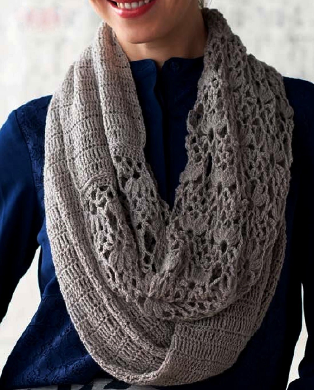 See that lovely pattern in scarf crochet yarn store FREE PATTERNS
