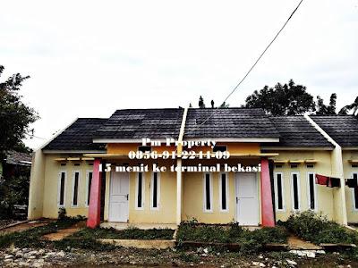 Rumah Murah di Cluster Wisma Nirwana Siap Huni 5 Menit Ke Tol Bekasi Timur