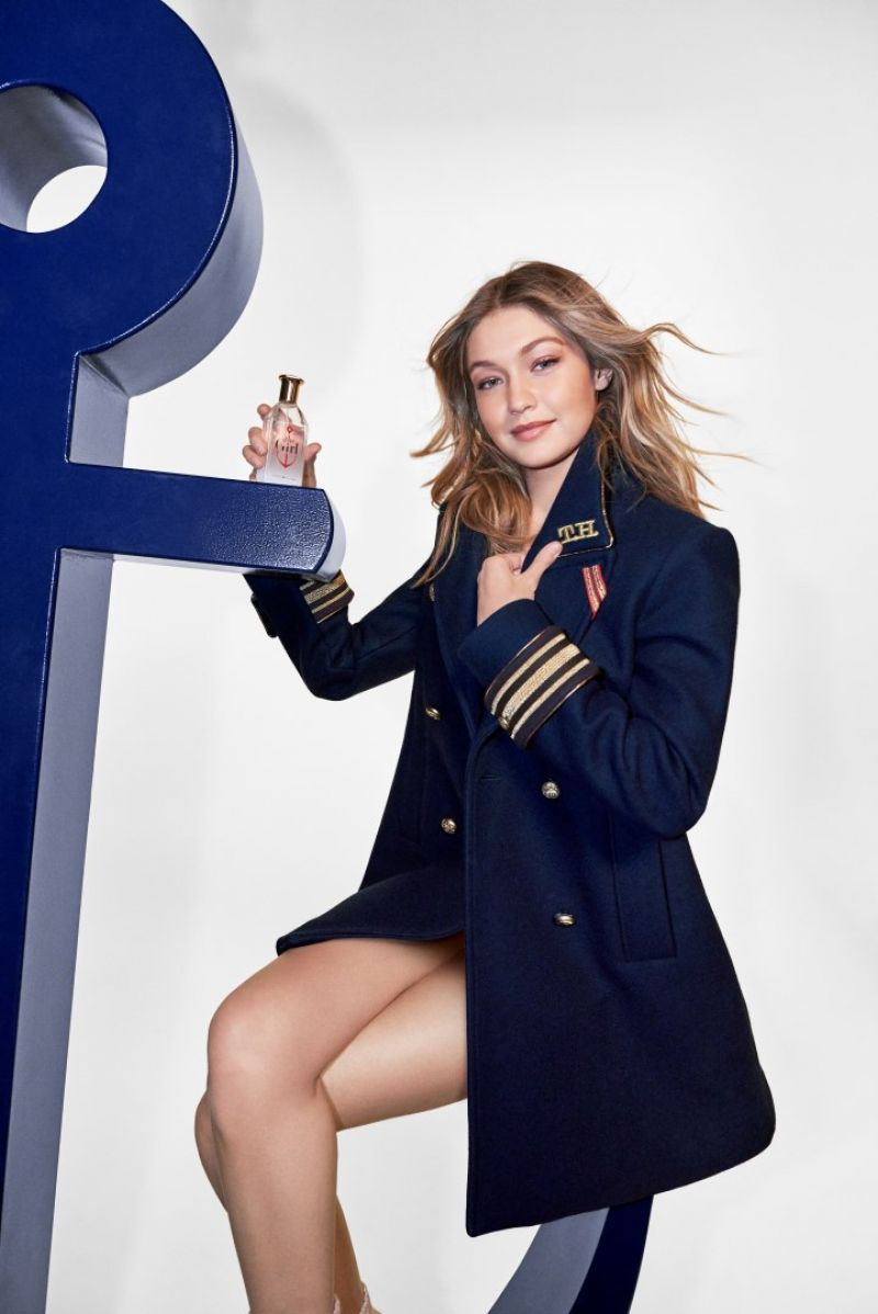 Gigi Hadid Fronts Tommy Hilfigers The Girl Campaign