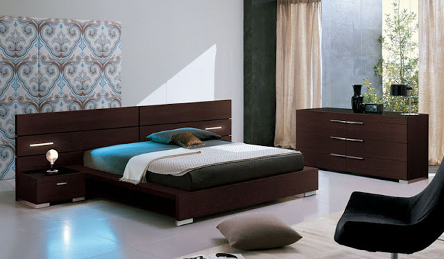 petite chambre a coucher design id es d co moderne. Black Bedroom Furniture Sets. Home Design Ideas