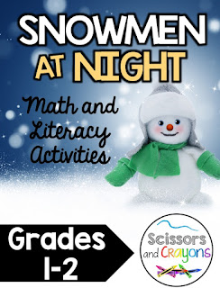 https://www.teacherspayteachers.com/Product/Snowmen-at-Night-Math-and-Literacy-Pack-first-grade-and-second-grade-2894902