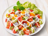 Download Contoh Spanduk Salad Buah Format CDR