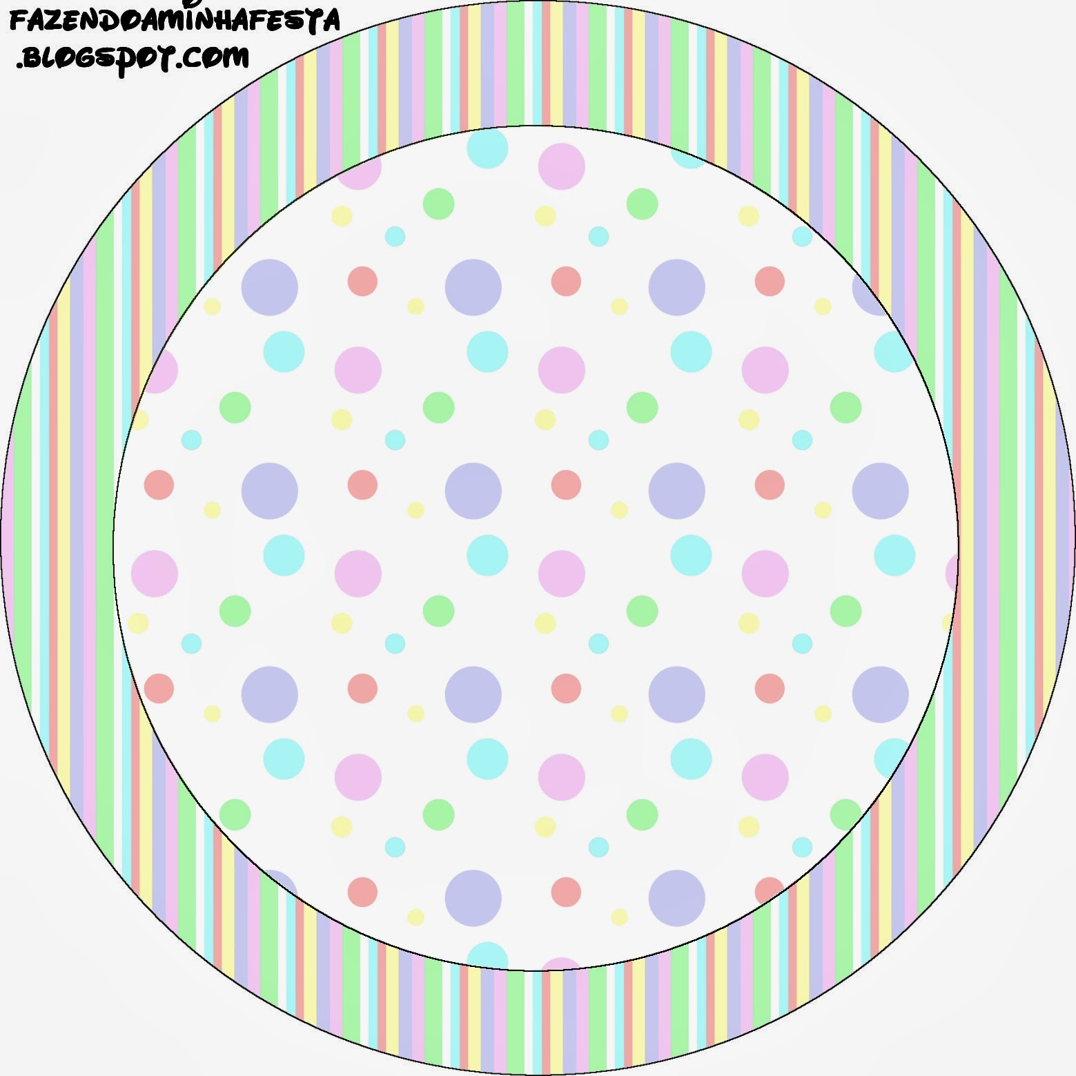 Pastel Colored Spots Free Printable Candy Bar Labels.