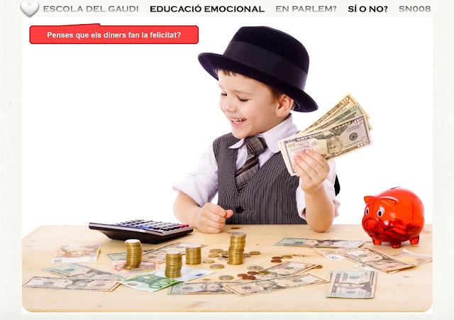 El dinero y la felicidad.