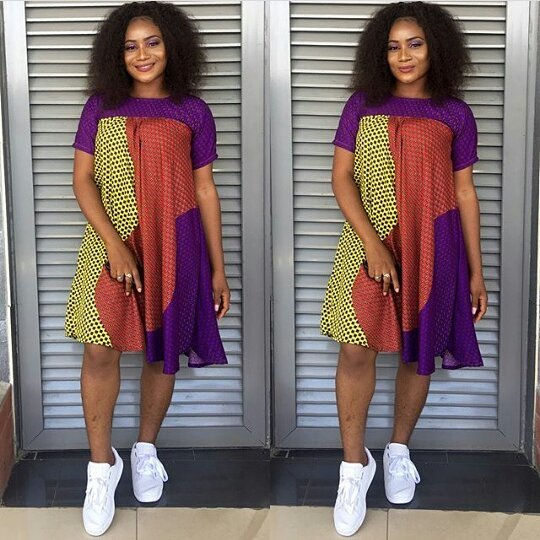 Fashion Trends: Stylish Ankara Short Dresses for Ladies