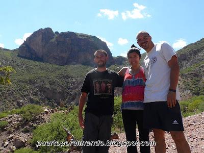 Subida al Cerro Elefante en Tupiza, Bolivia.