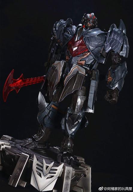 Rendsora (KO TF5 TLK: Oversized Megatron), Megatron, Hasbro, Knockoff, KO, WeiJiang, Toys, Transformers