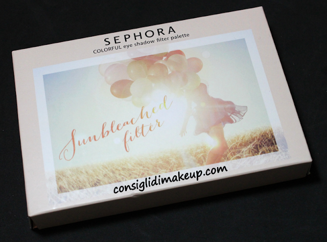 Review: Palette Filter Eye Sunbleached filter - Sephora