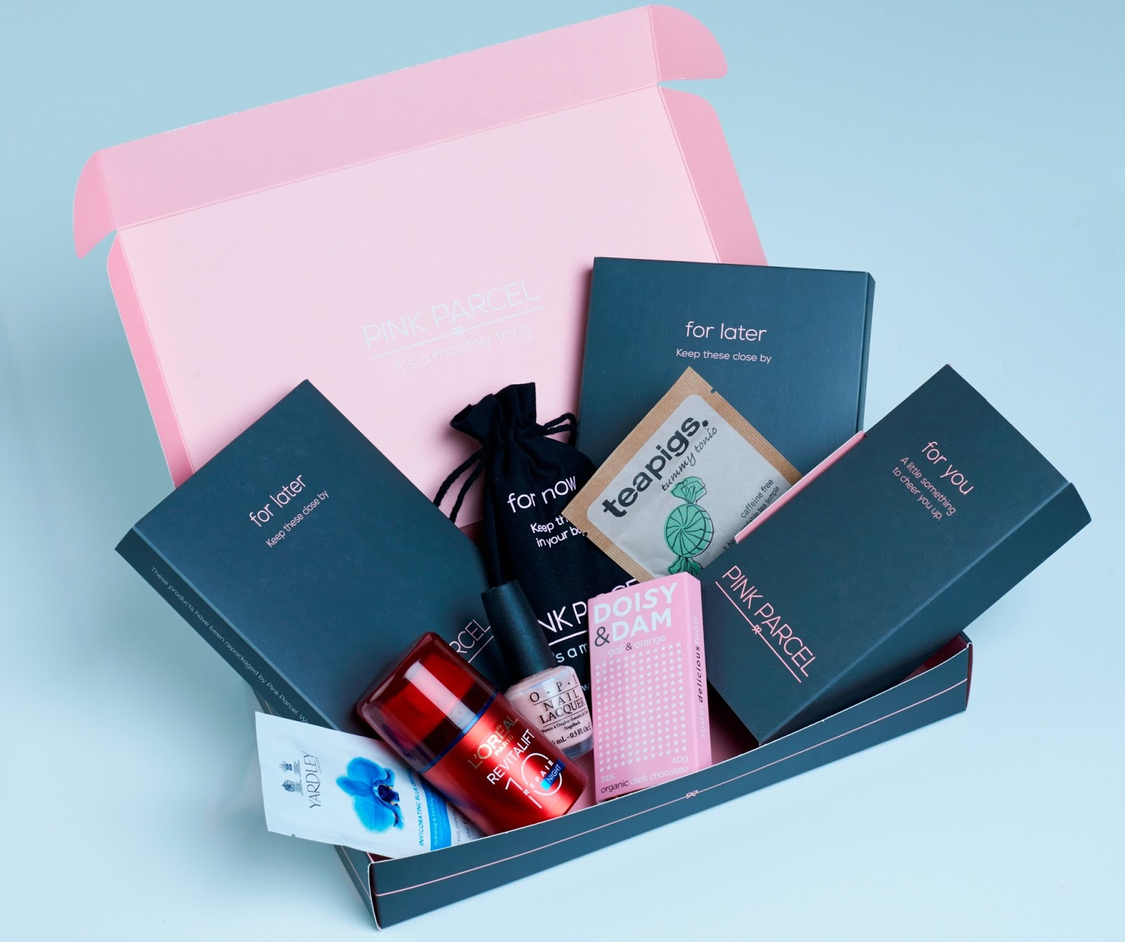 International Women's Day with Pink Parcel