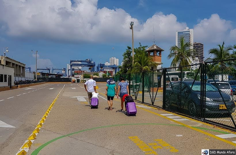 Chegando em Cartagena com a Juan Ballena - Diário de bordo: 4 dias em Cartagena, Colômbia
