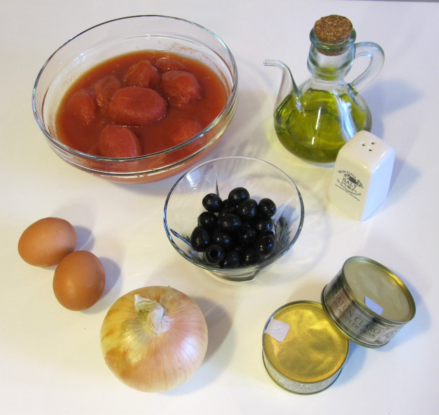 Ingredientes mojete