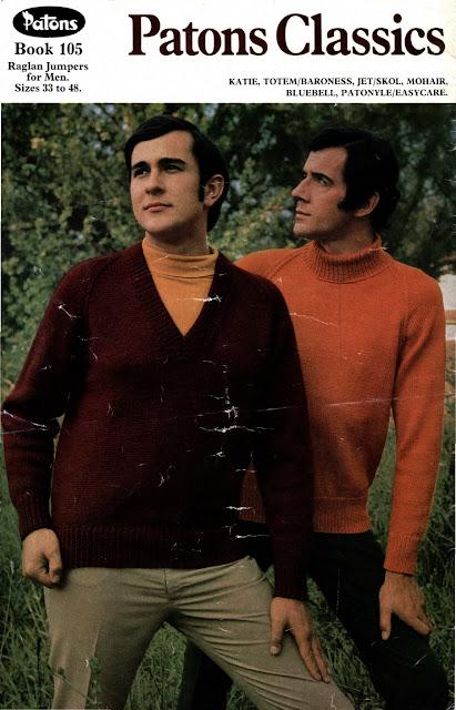 The Vintage Pattern Files Free 1960's Knitting Pattern Patons Classics No.105
