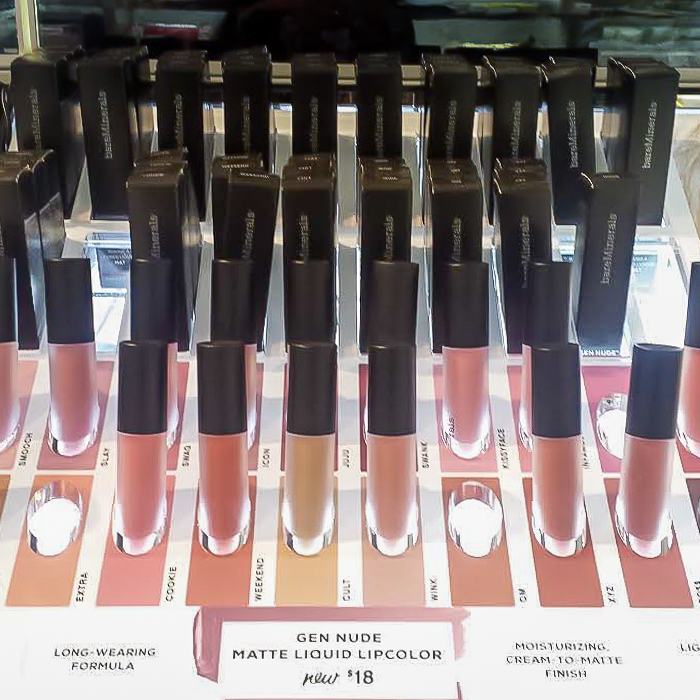 Bare Minerals Gen Nude Matte Liquid Lipcolor - Swatches