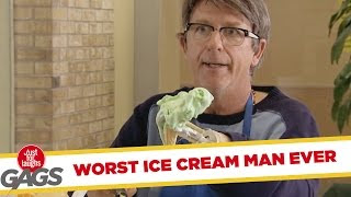 Funny Video – They LITERALLY Screamed For Ice Cream
