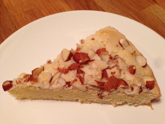 Swedish Vanilla Almond Cake