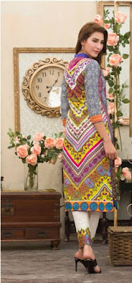 Batik 2 piece summer lawn print dresses design