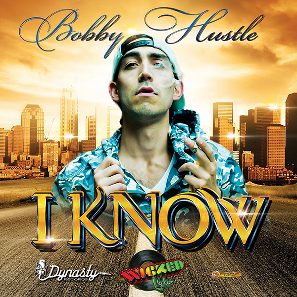 Bobby Hustle I Know Album Cover Design Artwork