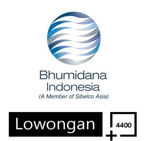 Lowongan Kerja PT Bhumiadya Indonesia