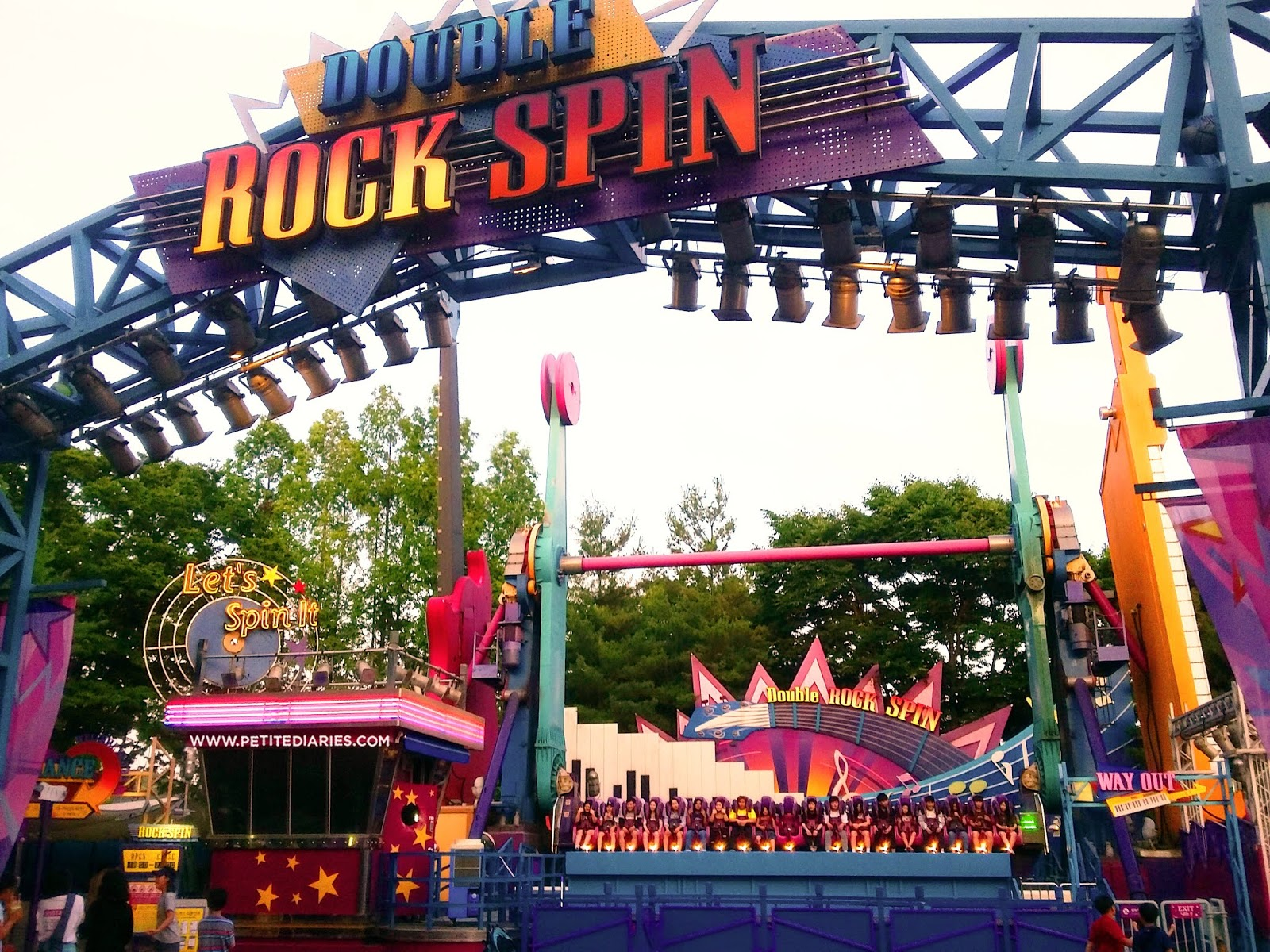 korea rock spin everland