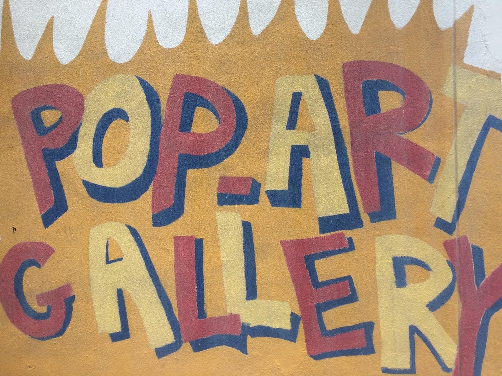 Pop art gallery void deck art holland village singapore moonlit