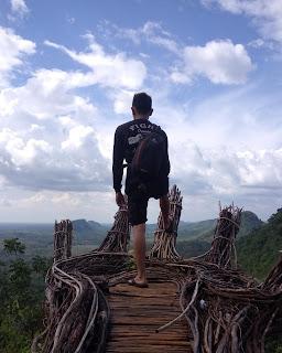 BUit Halinjuangan Mawangi, Bukit Halinjuangan Padang Batung