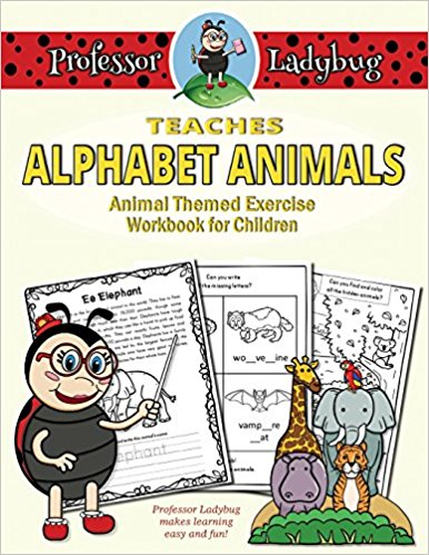 Professor Ladybug Teaches Alphabet Animals (Volume 4)