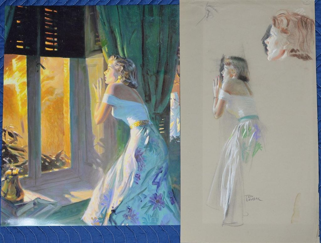 Tom Lovell Western Painter And Illustrator Tutt Art Pittura Scultura Poesia Musica