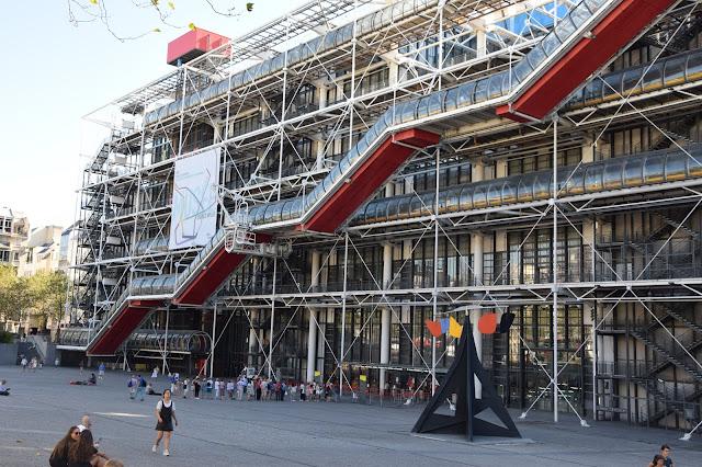 Paryż w pigułce #1 - Centre Pompidou - zdjęcie 2 - Francuski przy kawie