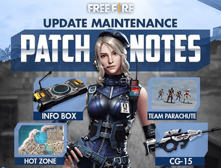maintenance free fire update versi terbaru