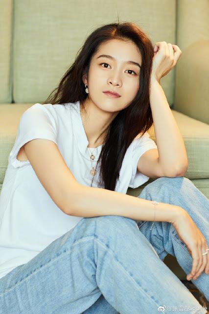 Sophie Zhang Xueying New Generation Four Dan Actress