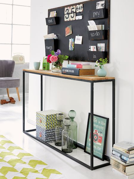 Ideas para decorar recibidores pequeños-10