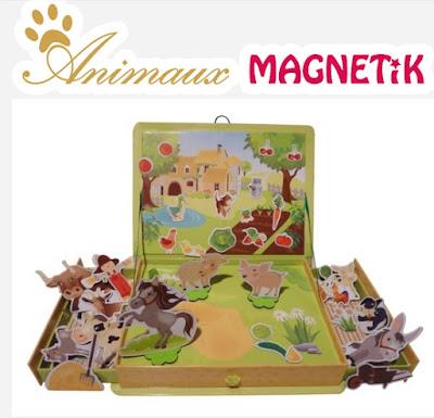 animaux magnetik