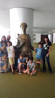 turismo no Salão Verde da Câmara dos Deputados