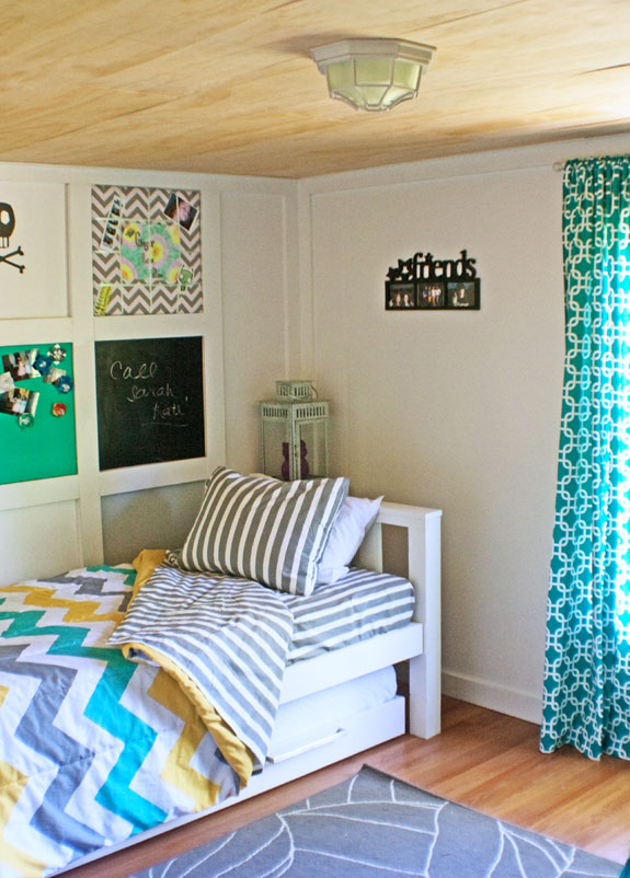 Teen Girl Room Makeover - The Shabby Creek Cottage on Teenager Room Girl  id=30942