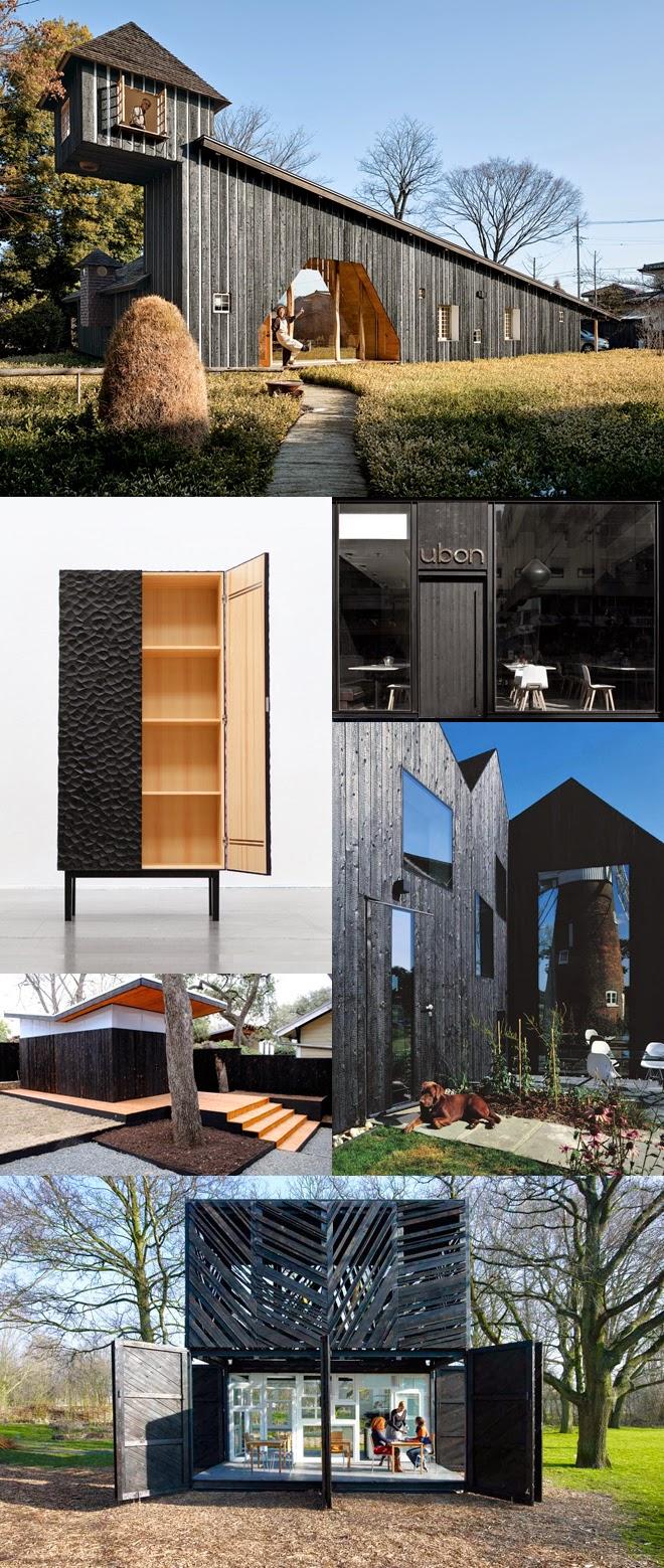 the felted fox shou sugi ban outdoor table diy. Black Bedroom Furniture Sets. Home Design Ideas