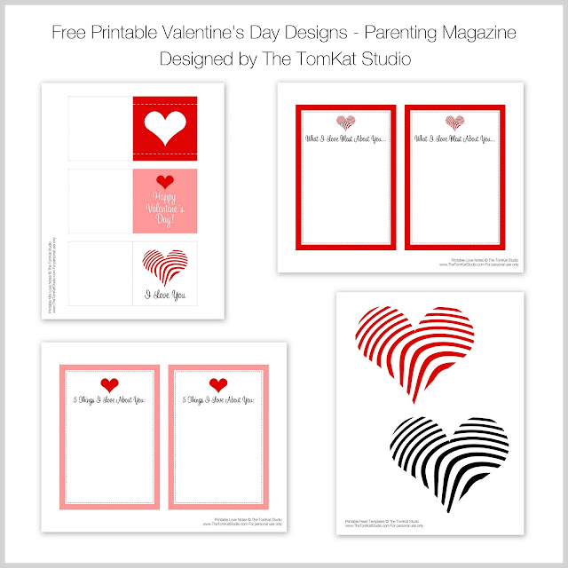 Parenting Magazine Mention + Free Printable Valentine