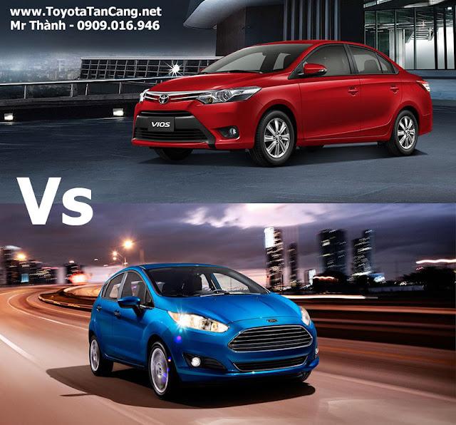 Toyota Vios 2015 hay Ford Fiesta 2015 ?