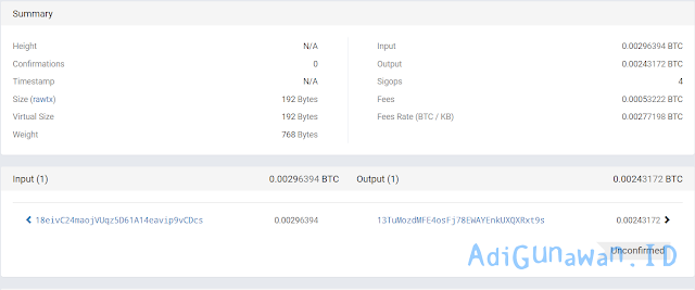 Bukti WD bitcoin di OXBTC CloudHash