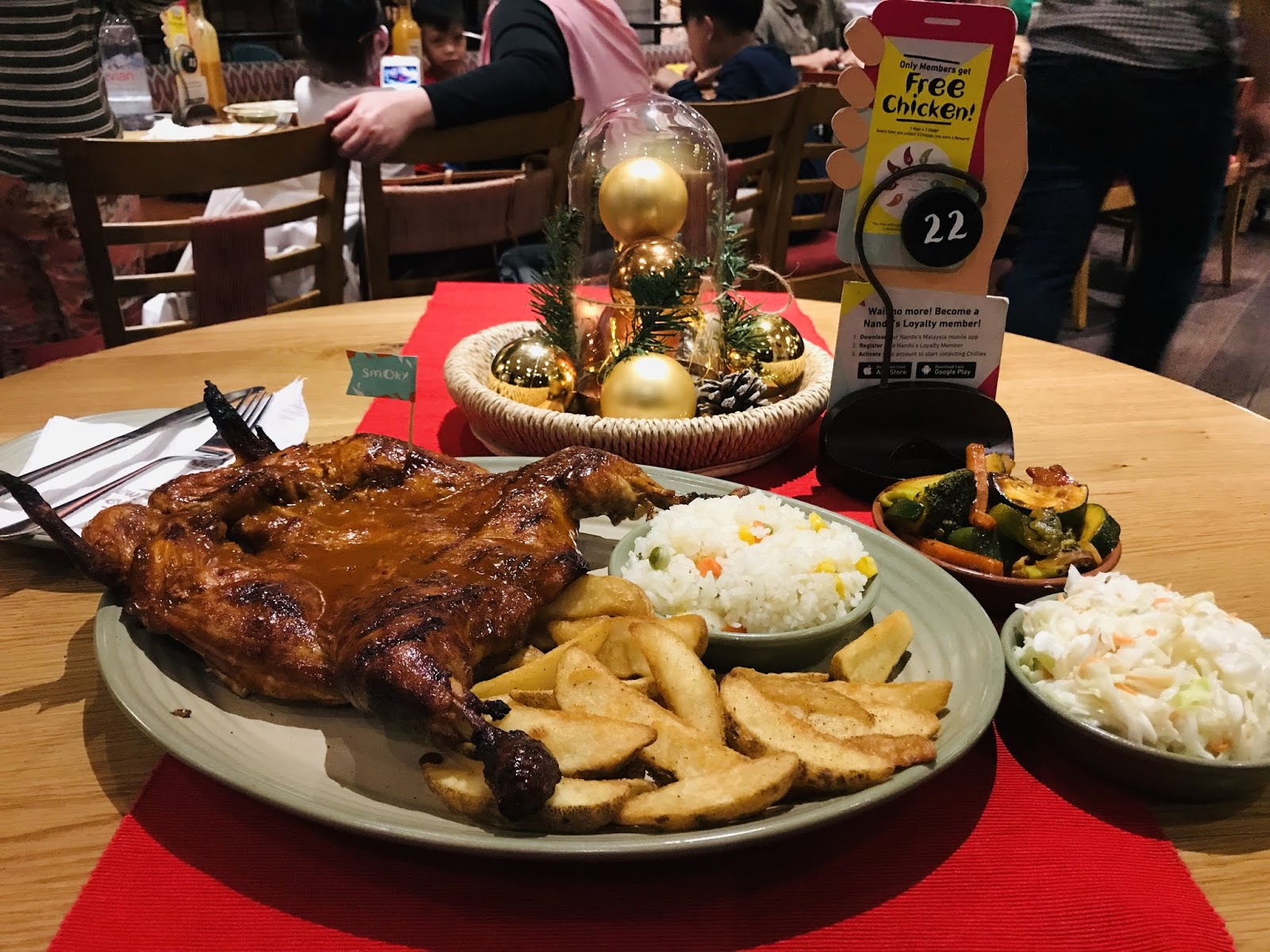 Get Ready for a SUPER-Natural experience with Nando's Smoky PERi-PERi
