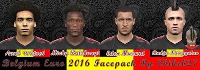 Belgium Euro 2016 Facepack by Chiheb27