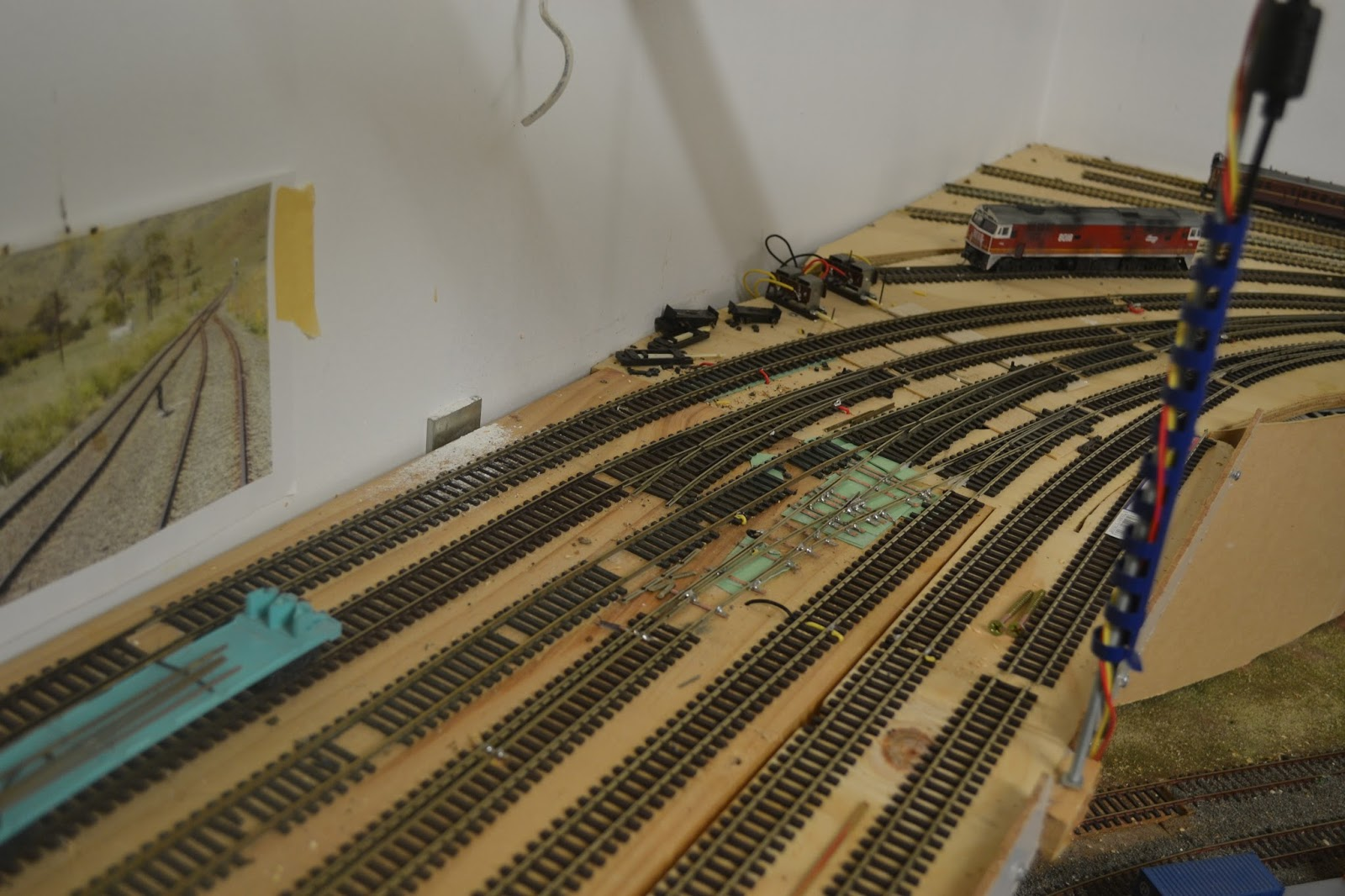 Typical Track Section Showing Insulated Joiners And Feeds To The Power
