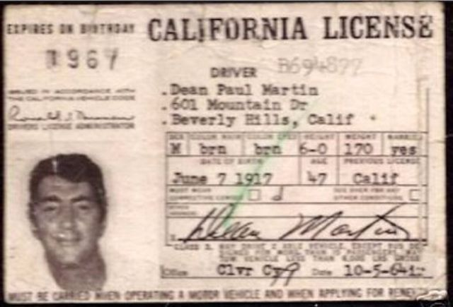 date issued on ca drivers license