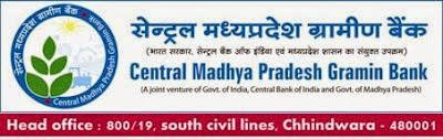Jobs in Central Madhya Pradesh Gramin Bank Recruitment 2015