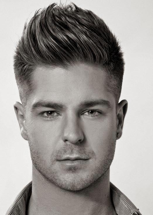Wavy Quiff Hairstyles For Men 2014