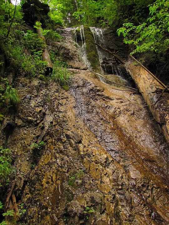 Wodospad Antona Straki (słow. Strakov vodopád).