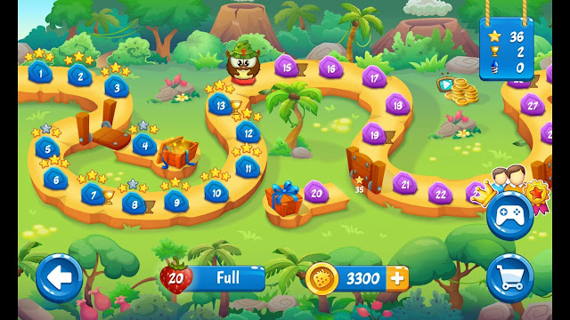 Catch my berry free android puzzle game gameplay preview