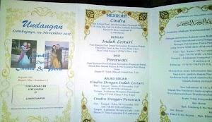 Heboh!! Beredar dalam Satu Undangan Pernikahan ada Dua Mempelai Wanitanya