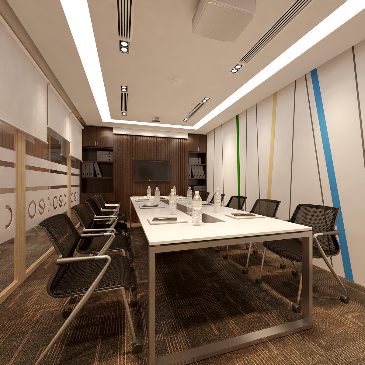 Thiết kế nội thất phòng họp cao cấp không thể thiếu những chi tiết sáng tạo